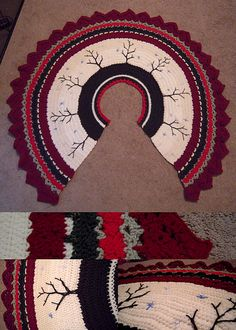 Ravelry: loverofthenorth's Victorian Christmas Tree Skirt