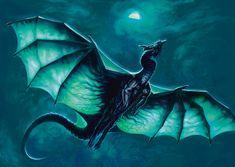 A dragon of the moonlight by TORONN on DeviantArt