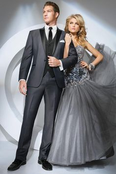 Tony Bowls Gray Portofino Slim Fit Tuxedo Available at Shannon Renee's Formal Wear! Grey Tuxedo Wedding, Prom Tuxedo, Slim Fit Tuxedo, Tuxedo Suit, Tuxedo Jacket, Suit Jacket, Black Tuxedo, Ball Gowns, Grey Suits