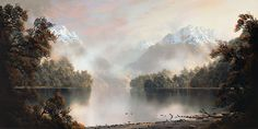 Tim Wilson - Across Lake Te Anau