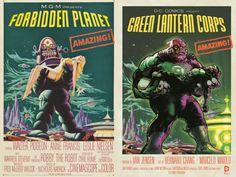 Green Lantern Corps 40 Voltar para DC Comics faz mês de homenagem a cartazes de filmes - veja as capas das HQs