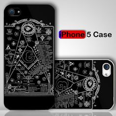 Structure Of Freemasonry Symbols Custom iPhone 5 Case Cover