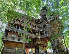 Minister's Tree House, Crossville, Cumberland County, Tenn… | Flickr