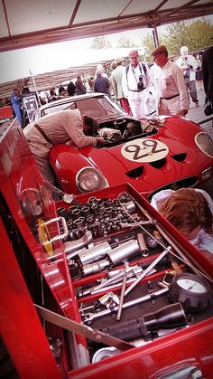 Goodwood Revival, Ferrari 250 GTO.