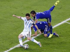 Lionel Messi's second-half goal against Bosnia-Herzegovina in the group stages was a delight to watch.