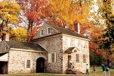 Once the headquarters of General George Washington's Revolutionary army, Valley Forge National Historical Park offers trails for jogging and biking and 3,600 acres of rolling hills of autumn beauty. (Photo courtesy Valley Forge Convention & Visitors Bureau)