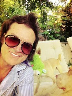 Toto ~ Mac & Me ~ Daddy at home... 27c here in LA... Dec 26 '013