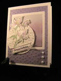 Backyard Watercolor - Stamp Class 2/14 by susie nelson - Cards and Paper Crafts at Splitcoaststampers