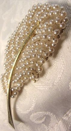 Vintage Art Deco GoldPlated Seed Pearl Flower Pin Brooch Lovely 1940s Era | Jewelry & Watches, Vintage & Antique Jewelry, Costume | eBay!...