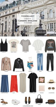 What to pack for London in summer – Packing Light – livelovesara - travel outfit summer Scrunch Bikini, London Outfit, Travel Wardrobe, Capsule Wardrobe, Europe Travel Outfits, Fall Wardrobe Essentials, Travel Essentials, Travel Outfit Summer, Summer Outfits