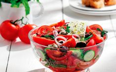 "World Famous ""Village"" Salad - Greece Is"
