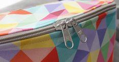 Witam ponownie Kochani,     Tak jak obiecałam, mam dla Was kolejny tutorial, w ramach projektu grupy Tkaniny Poliestrowe i Tapicerskie .   ... Sewing Tutorials, Sewing Patterns, Shoulder Sling, Hip Bag, Fabric Bags, Handmade Bags, My Bags, Fanny Pack, Diy Fashion