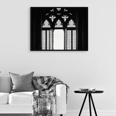Window Light Print, Architecture Wall Art, Arched Window Poster, Architecture Photography, Scandinavian Art, Living Room Decor, Printable