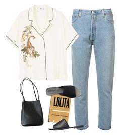 A fashion look from March 2018 featuring print shirts, high-waisted jeans and shoulder handbags. Browse and shop related looks. Androgynous Fashion, Tomboy Fashion, Fasion, Fashion Outfits, Womens Fashion, College Outfits, Outfits For Teens, Fall Outfits, Cute Comfy Outfits