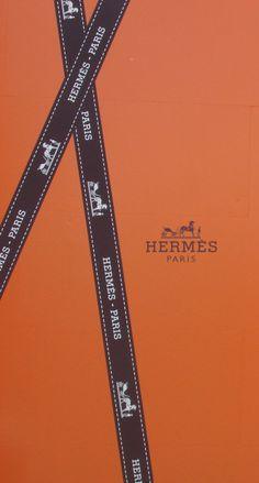 エルメス/ロゴリボン iPhone壁紙 Wallpaper Backgrounds iPhone6/6S and Plus  Hermès