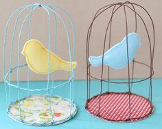 Whimsical Birdcage