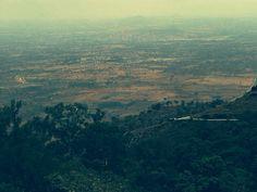 Fields in Karnataka, India Karnataka, Airplane View, Fields, India, Goa India, Indie, Indian