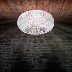 Mogul / Kristall-Deckenleuchte / hochwertige Kristalle 11510
