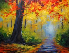 Autumn Trail by artsaus.deviantart.com on @DeviantArt