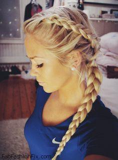 Dutch braid inspiration