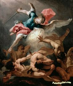 Centuries Past. The Fall of the Rebel Angels Sebastiano Ricci Dulwich Picture Gallery Art And Illustration, Google Art Project, Renaissance Kunst, Renaissance Paintings, Dulwich Picture Gallery, Biblical Art, Classic Paintings, Classical Art, Angel Art