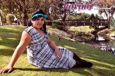 Karina Frockstar™ Nation Event Nora Dress In Black And White Plaid @Karina Dresses™