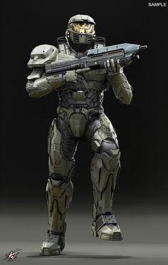 Fantasy Character Design, Character Concept, Character Art, Sci Fi Armor, Sci Fi Weapons, Armor Concept, Concept Art, Lego Halo, Space Soldier