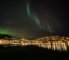 Northern Lights over Hammerfest.