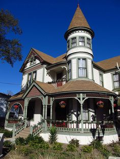Anaheim, California |Queen Anne  style Woelke-Stoffel house circa 1894 Jasperdo's photostream on  Flickr - Photo Sharing!