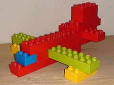 great step by step instructions! Duplo vehicle - Airplane