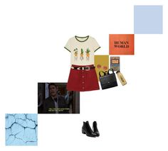 """""""I'm a Picasso, not a Vermeer"""" by spiced-pistachio ❤ liked on Polyvore featuring Monki, Oliver Peoples, ASOS and CO"""
