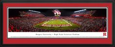Rutgers Scarlet Knights Panoramic Picture - High Point Solutions Stadium $199.95