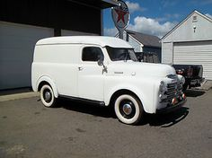 1950 Dodge Panel Delivery Truck. Maintenance/restoration of old/vintage vehicles: the material for new cogs/casters/gears/pads could be cast polyamide which I (Cast polyamide) can produce. My contact: tatjana.alic@windowslive.com