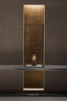 Interior Design Museum of Islamic Art Jean-Michel Wilmotte Design Entrée, Lobby Design, Deco Design, House Design, Niche Design, Design Room, Design Ideas, Architecture Details, Interior Architecture