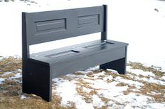 Door Furniture: Custom Bench