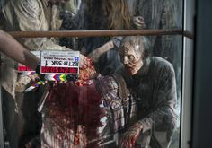 The Walking Dead behind the scene 5x14