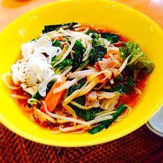 旦那さん手作りタンメンです。 野菜たっぷりで美味しい! - 13件のもぐもぐ - タンメン by ryotamom