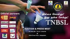 #Auction & #Pressmeet on June 9th - 10 a.m. onwards @ Hotel Green Park - Vadapalani.