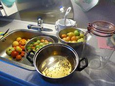 Fasters UrteHave: syltet grønne tomater