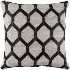 Artistic Weavers Toiba Black Geometric Polyester 18 in. x 18 in. Throw Pillow - The Home Depot Artistic Weavers Toiba Poly Euro Pillow, Black.