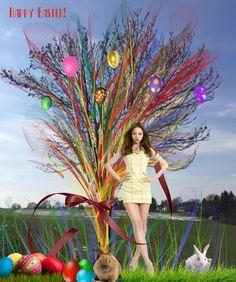 Happy Easter ! -  - Diese  Collage wurde erstellt von Gerd Schremer