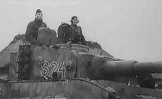 Tiger 'S24' from the 13./SS-Panzer-Regiment 1 of the Leibstandarte Division in late December 1943 during one of the company's numerous road marches from one crisis area to another.