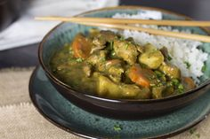 This easy recipe for Japanese Chicken Curry is a healthier take on fried Chicken Katsu Curry. Impress your friends and family with this simple, fragrant and flavorful dish.