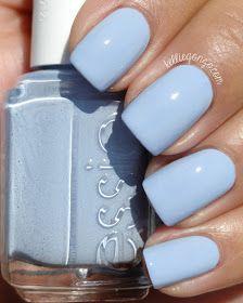 Essie Salt Water Happy // Pretty blue nail color // kelliegonzo.com