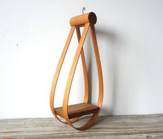 Modern Bentwood Hanging Plant Stand by GallivantingGirls on Etsy