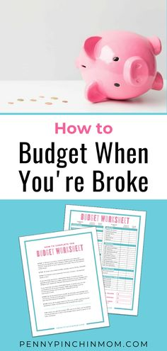 When you're broke and money is tight, you can still budget your money. However, the truth might actually be that you are broke because you don't know how to budget. No matter the situation, with a little effort and hard work, you can create a workable budget.