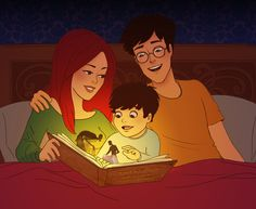 James, lily and Harry! Right. In. The. Feels man!