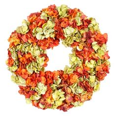 """I pinned this 24"""" Faux Hydrangea Wreath from the Winward event at Joss and Main!"""