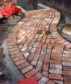 Landscape, Recycled Brick