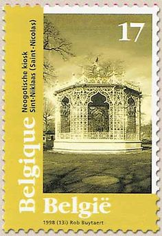 belgian stamps Tourisme : European Monuments Day. St-Niklaas